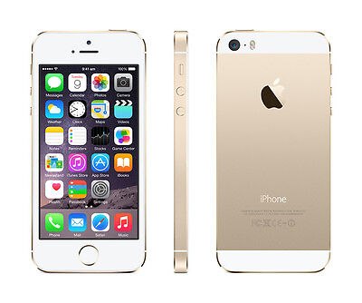 Gold Apple iPhone 5S 64GB (A1533) Factory Unlocked Verizon Smartphone US