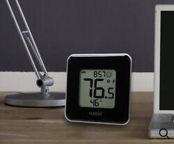 La Crosse Technology Indoor Comfort Level Station Temperature/Humidity Clock