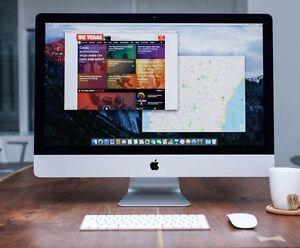 Apple iMac 27-inch 32GB 2TB Retina 5K Warranty Nov 2017 RRP $4559 Waterloo Inner Sydney Preview