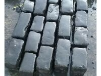 Reclaimed Basalt setts for sale