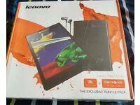 New!! Lenovo TAB 2 A7-30 3G Tablet Sim JBL headphones Samsonite case