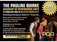 FREE OPEN DAY at The Pauline Quirke Academy in Welwyn Garden City