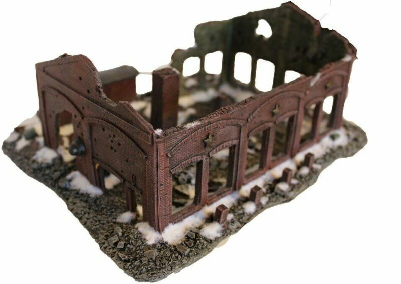 15mm Barrikady Factory Ruin Stalingrad No 1197