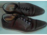 LOVELY SWEAR LEATHER JAMES DEAN - TRAINERS/SHOES - UK5
