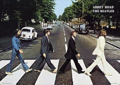 The Beatles Abbey Road Poster Print, 24x36