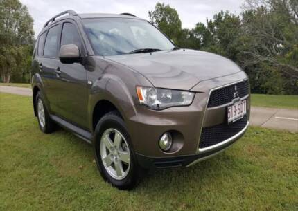 From $73* per week on finance 2012 Mitsubishi Outlander Wagon
