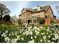 Waiter/Waitress Live in available Michelin Starred Morston Hall Hotel and Restaurant , Norfolk