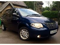2005 CHRYSLER GRAND VOYAGER STOW AND GO 7 SEATER AUTOMATIC 2.8 CRD DIESEL FULL 12 MONTH'S M.O.T!