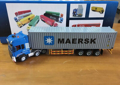 Construction vehicles Container Lorry Truck 1:50 Scale Die-Cast Metal Model Toy