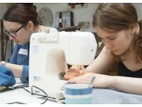 Learn How to Sew & Make a Tote Bag - Join our Sewing Class Sat 7th July 10:00-13:00