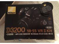 Nikon dslr d3200 camera 24mp