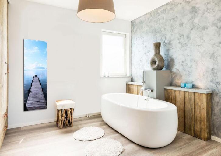 Infrarood Verwarming Spiegel : Infrarood verwarming uit een mooi schilderij paneel spiegel