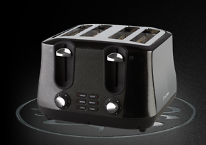 Russell Hobbs Siena 4 Slice Toaster - Black - Brand New Free Ship Malvern Stonnington Area Preview