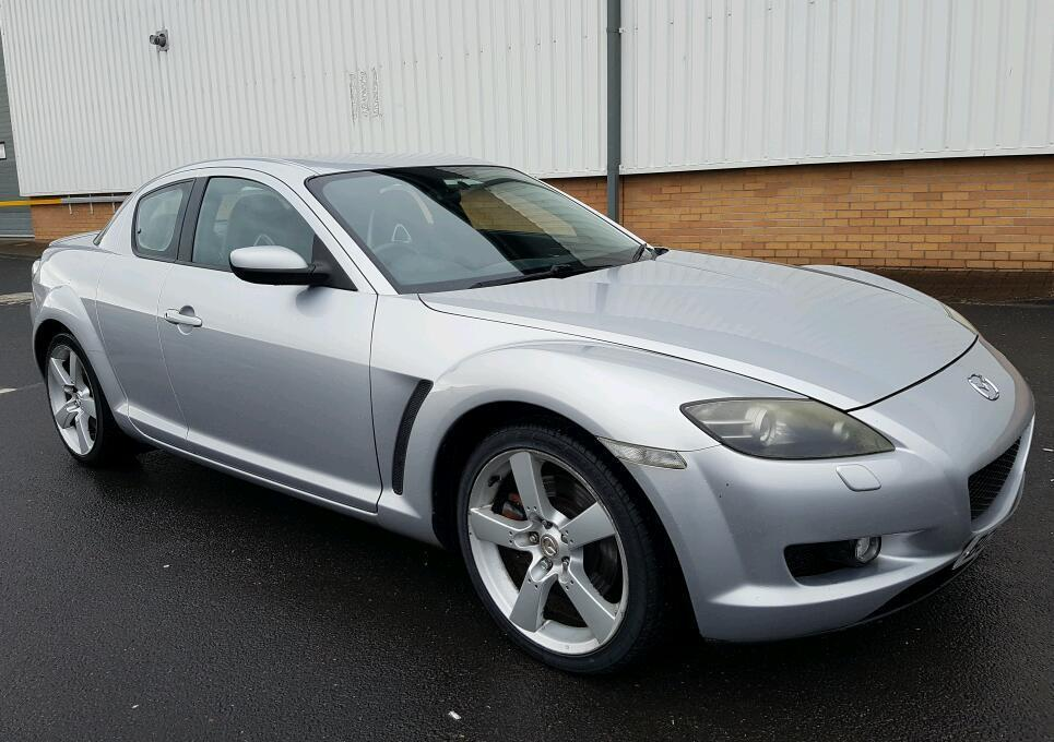 mazda rx8 in silver 55 plate 231 bhp in powys gumtree. Black Bedroom Furniture Sets. Home Design Ideas