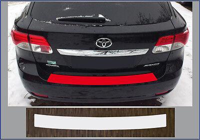 Lackschutzfolie Ladekantenschutz transparent Toyota Avensis T27 Kombi, ab 2012