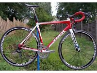 Trek 2.5 Alpha Road Bike Alloy 56CM with upgrades and awesome wheelset