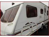 2004 Swift Charisma 4 Berth Luxury Fixed Bed Caravan Abbey Ace Sterling Group BARGAIN
