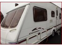 2004 Swift Charisma 4 Berth Luxury Fixed Bed Caravan Abbey Ace Sterling Bargain.
