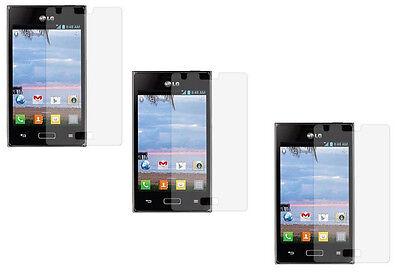 3 x Anti LCD Custom Screen Protector for LG Optimus Extreme L40G L5 E610 E612  (Custom Screen Protector Lcd)