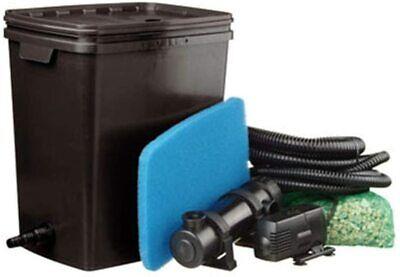 Ubbink Pond Filter Set FiltraPure 7000 37L Filtration System Outdoor #5N18