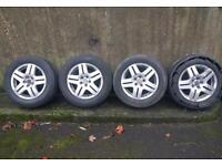 Alloy wheels - VW/BMW/AUDI