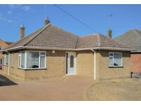 Detached bungalow 2 bedrooms, Crowland near Peterborough
