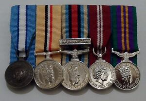 Court-Mounted-Miniature-Medals-Cyprus-Iraq-Afghan-Diamond-Jubilee-ACSM