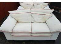 2 x 2 seaters sofas