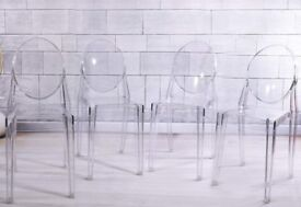 Panana 4 x Ghost Acrylic Transparent Clear - £125 ONO