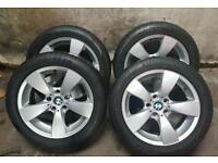 bmw 5 series 17inch alloys wheels and tyres