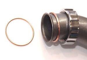 Auspuff Krümmer 2x Dichtung Kupfer für DKW 350 NZ, 350 SB , 45mm,  Nachbau neu