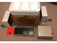 BANG & OLUFSEN BEOSYSTEM 1001, IN RARE WHITE, ORIGINAL BOX & MANUALS