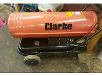 Large Clarke space heater diesel