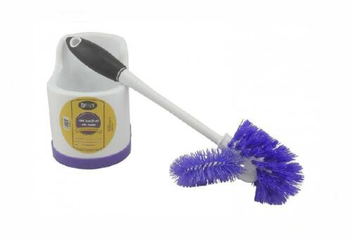DINY Home Products Toilet Bowl Brush with Rim Cleaner and Ho