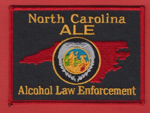 ALCOHOL LAW ENFORCEMENT   NORTH CAROLINA ALE   POLICE SHOULDER PATCH