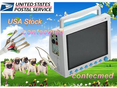 Vet Veterinary Patient Monitor 6 Parameterecgnibpprspo2temprespcefda
