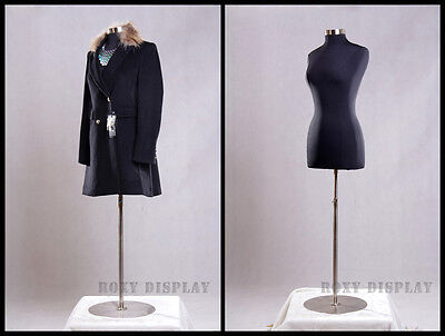 Female Size 10-12 Mannequin Manequin Manikin Dress Form F1012bkbs-04