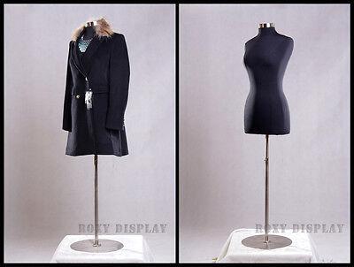 Female Size 10-12 Mannequin Manequin Manikin Dress Form F1012bkbs-04