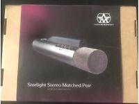 Aston Starlight Microphones (Pair / Laser Mics )