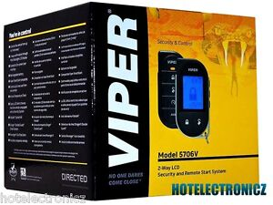 Viper 5706 2-Way System Car Remote Start /Security/ Keyless Entry/ LCD Remote