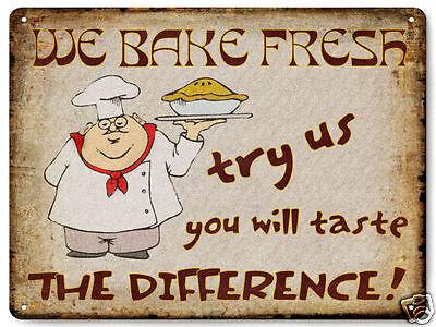 Bakery PIE Shop METAL Sign Cake store vintage style restaurant  diner decor 469