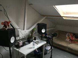 Long term programming room/music studio