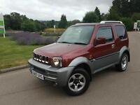 2007 suzuki jimny 1.3 4/4 50000 miles £2499 half price jeep freelander CrV xtrail