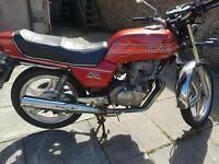Honda superdeream motor bike