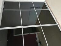 Wery good condition wardrobe 4 sliding doors high2.28 widht3.25