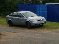 Vauxhall vectra c breaking