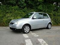 2003 03 VOLKSWAGEN LUPO 1.4 16V SPORT OPEN AIR VERY RARE CAR ONLY 75000 MILES 1 FORMER KEEPER