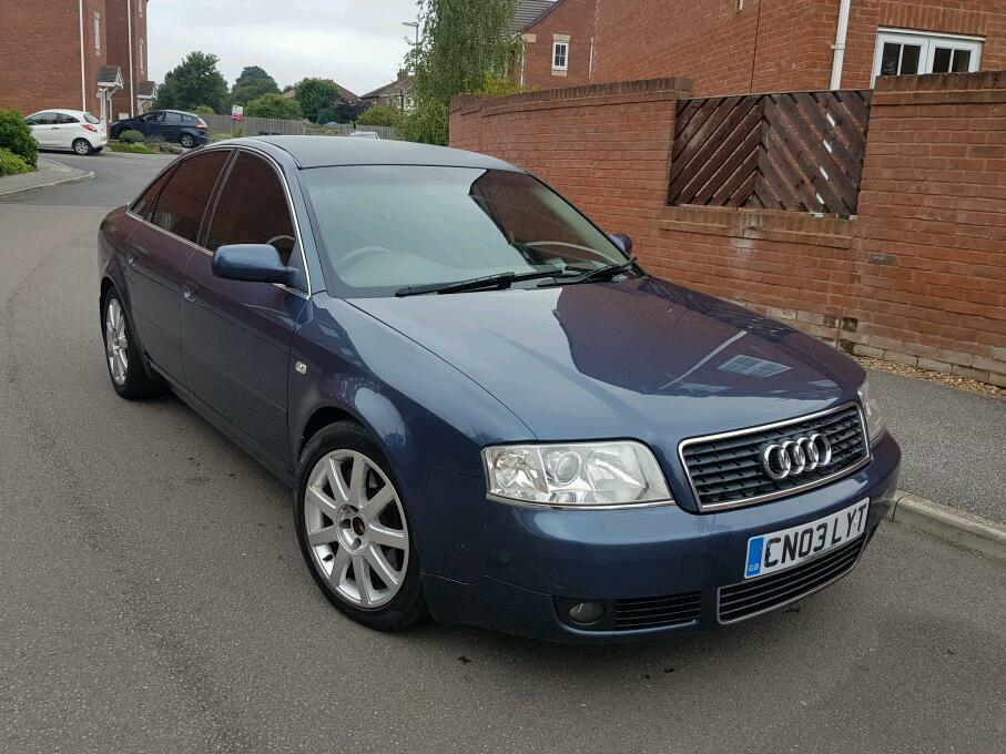 2003 audi a6 2 5 tdi v6 cvt auto 4 door saloon full leathers tints long mot good runner bargain. Black Bedroom Furniture Sets. Home Design Ideas