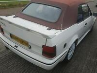 Escort convertible tennis ed rs turbo conversion