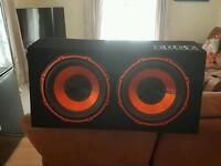 SUBWOOFER AND AMP COMBO